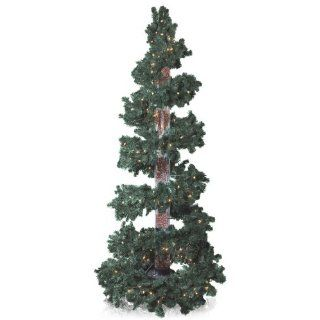 NEW Green 8 Ft Bubble Column Christmas Tree Home