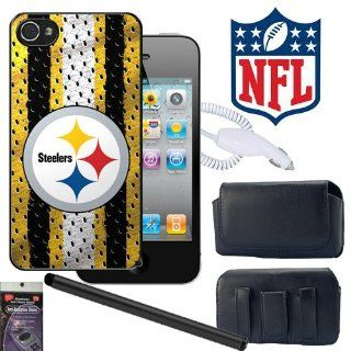 iPhone 4s, 4 Pittsburgh Steelers NFL Team Snap on Cover