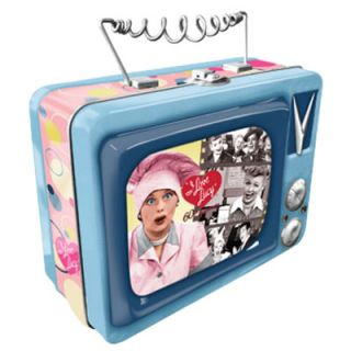 tin tote lunch box i love lucy tv style tin tote lunch box this tin