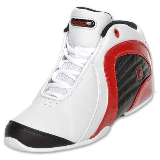 AND 1 Kids Rocket 2.0 Mid Basketball Shoe White