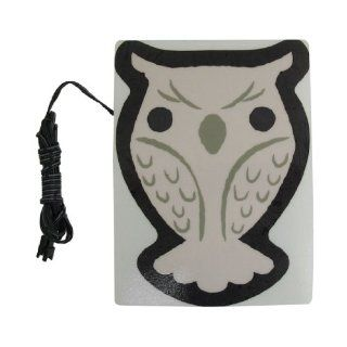 Amico Owl Shaped Sheet Blue Flash Light Car Sticker EL Panel w