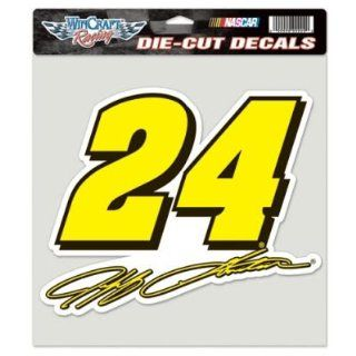 Jeff Gordon NASCAR Official 8x8 Die Cut Car Decal
