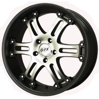 FX OR9 Truck Wheel 17x8.5 Matte Black Machined OR9 785 6114 18 MBM