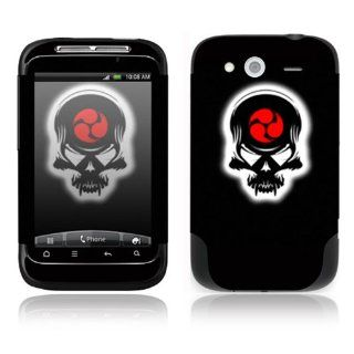 Samurai Death Skull Decorative Skin Cover Decal Sticker