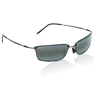 Gloss Black/Neutral Grey Sunglasses in Nylon (MJ 102 02) Clothing