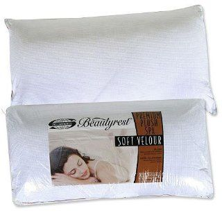 Simmons BeautyRest Premium Plush Spa Soft Velour Bed