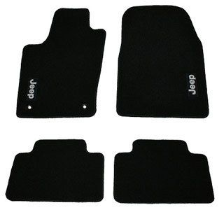 Mopar 05 10 Jeep Grand Cherokee Set of Premium Floor Mats Dark