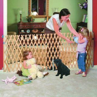 Keepsafe Wood Expansion Pet Gate   108W x 32H