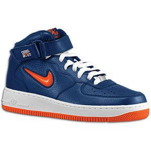 Nike Air Force 1 Mid   Mens   Basketball   Shoes   Midnight Navy/Team