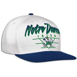 adidas College Trefoil Snapback   Mens   Notre Dame Fighting Irish