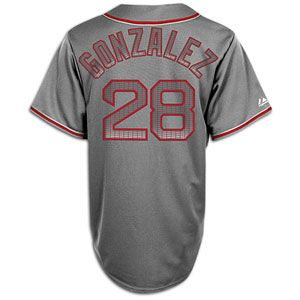 Majestic MLB Storm Jersey   Mens   Adrian Gonzales   Boston Red Sox