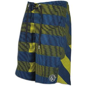 Volcom V6S Stripe Boardshort   Mens   Casual   Clothing   Navy