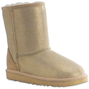 UGG Classic Glitter   Girls Grade School   Casual   Shoes   Gold