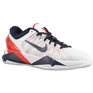 Nike Kobe VII   Boys Grade School   White/Obsidian/University Red