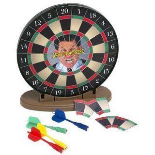 Make Your Own Desktop Magnetic Dartboard Toys & Games