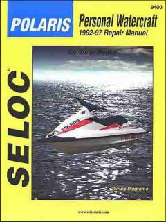 Essential Polaris Jet Ski Repair Shop Manual 1992 1993 1994 1995 1996