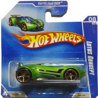 2009 Hot Wheels LOTUS CONCEPT #134/166 [Green], Faster