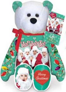 Love Lucy Green Christmas Bear Ricky Ethel Fred Lucille Ball HO HO