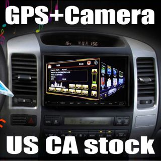 in Dash 2Din Car DVD Player GPS Navigation Stereo Cam
