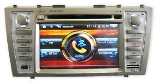 In Dash Unit GPS Navigation DVD Touch Screen Fits Toyota Camry 2007 08