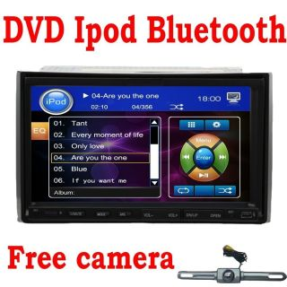 Versio 2 DIN 7 in Dash Car Stereo DVD CD Player Touch Screen iPod