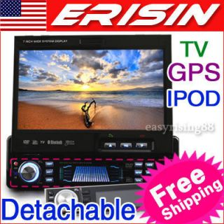 in Dash Touch Screen Car DVD Player GPS Navigation iPod TV RDS