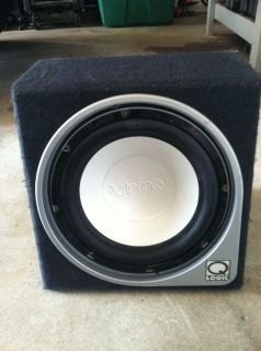 Infinity Kappa Perfect 12 1 12 Sub Subwoofer with 1 CU ft SEALED Sub