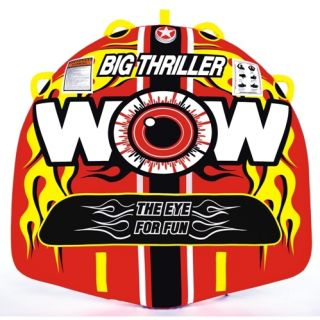 WOW Big Thriller Inflatable Towable Water Tube Toy