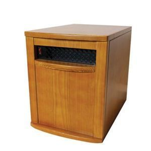 1500 Watt Infrared Quartz Heater 1000 Sq ft Space Heater Oak