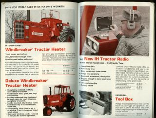 International Harvester Farm Equipment Parts & Accessories catalog