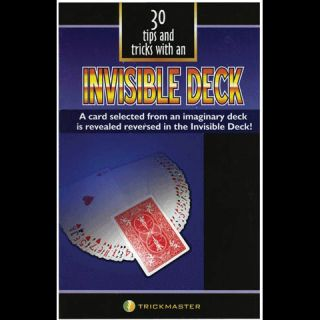 Invisible Deck Book 30 Magic Tricks Mental Cards Teach