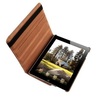 The New iPad2 360 PU Magnetic Smart Case Cover iPad 2nd Screen Guard