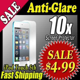 10x Anti Glare LCD Screen Protector Matte for Apple iPod Touch 5 5th