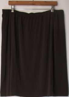 Isaac Mizrahi Live Sz Plus 18 Railroad Stripe Wide Leg Pants Beige New