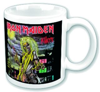 Iron Maiden Killers Graphic Print Boxed 12 Ounce Ceramic Coffee Tea