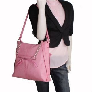 Genuine Italian Leather Pink Handbags, Purse, Hobo Bag, Satchel, Tote