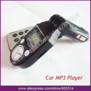 Car  Player FM Transmitter USB Pen Drive SD MMC Slot