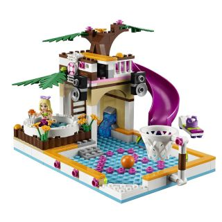 JANUARY 2013 LEGO FRIENDS 41008 HEARTLAKE CITY POOL *BRAND NEW, GREAT