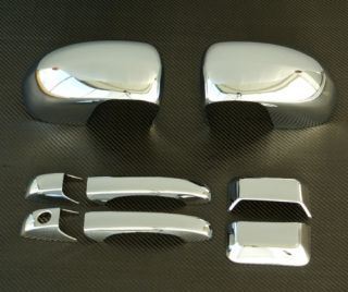2007 2008 Jeep Compass Chrome Door Handle Mirror Cover