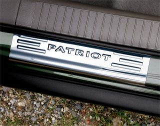 2007 2010 Jeep Patriot Stainless Steel Door Sill Guard