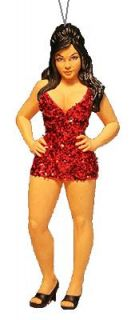 Jersey Shore snookie Figural Christmas Ornament