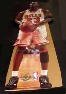 1996 Upper Deck Michael Jordan 23 Chicago Bulls Stand Up 78 Tall
