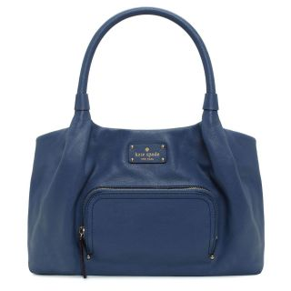 Kate Spade New York Baxter Street Stevie Blue Handbag
