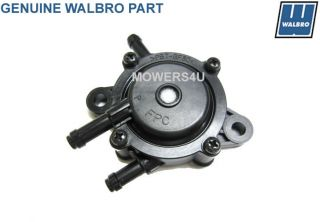 Walbro Vacuum Fuel Pump Replaces Kawasaki 49040 7001 Honda 16700 ZL8