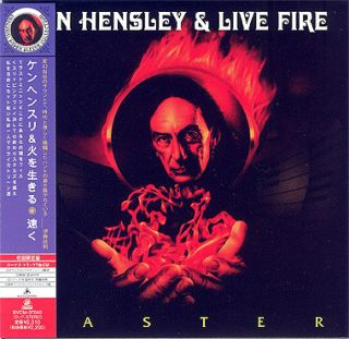 Ken Hensley Live Fire Faster Mini LP CD OBI