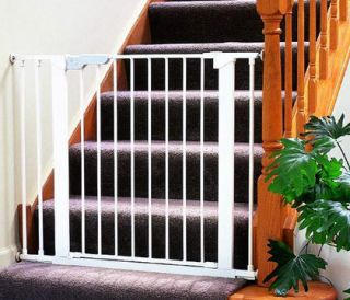 Kidco G15 Baby Pet Dog Pressure Mounted Safety Gate Wht