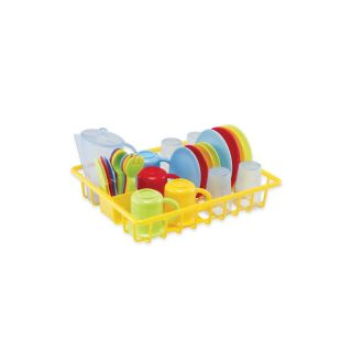 Dish Drainer Kids Kitchen Fun Pretend Play Kids Great for The