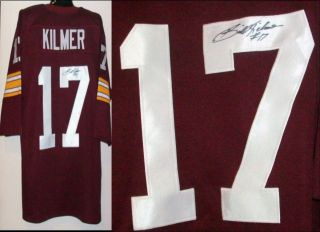 Billy Kilmer Signed Autographed Washington Redskins Jersey AAA Cert