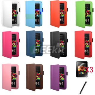 Eeekit for  Kindle Fire HD 7 Multi Color Leather Case Screen