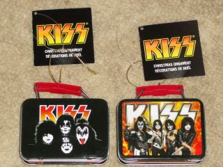 Kiss New Mini Lunch Box 2012 Kurt s Alder Christmas Ornament 1